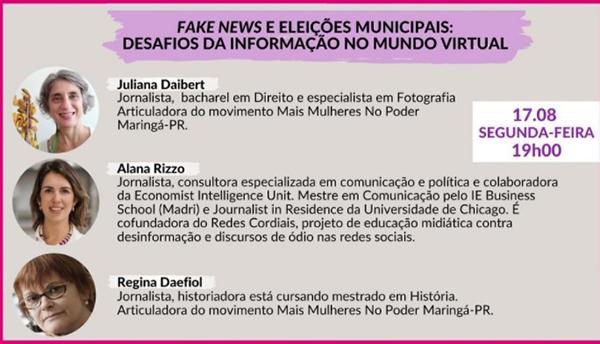 Live discute fake news. Café com Jornalista