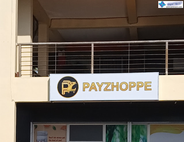 Outdoor Store Signage - Payzhoppe