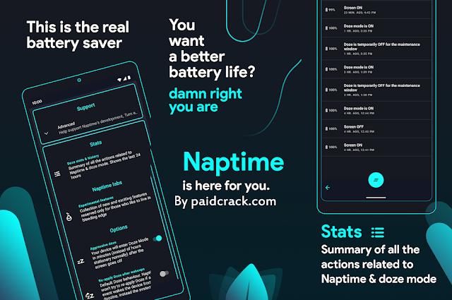 Naptime - The Real Battery Saver Premium Apk 8.1.4 [Latest]