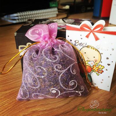 Quà tặng túi thơm hoa oải hương