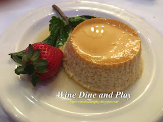 The flan at Columbia restaurant in Tampa, Florida is prepared the old Spanish method and was the best we had ever tasted.