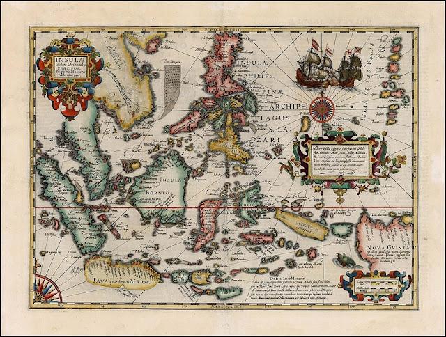 Sejarah Aceh: Peta Petunjuk pelayaran Laut India
