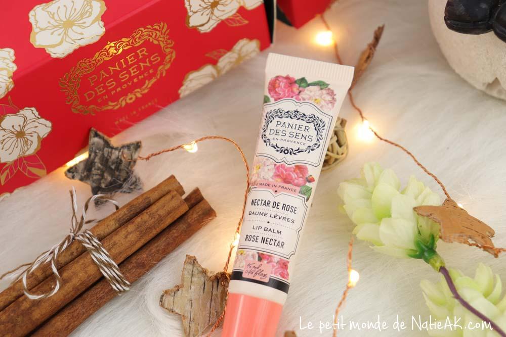 baume lèvres rose nourrissant Panier des sens