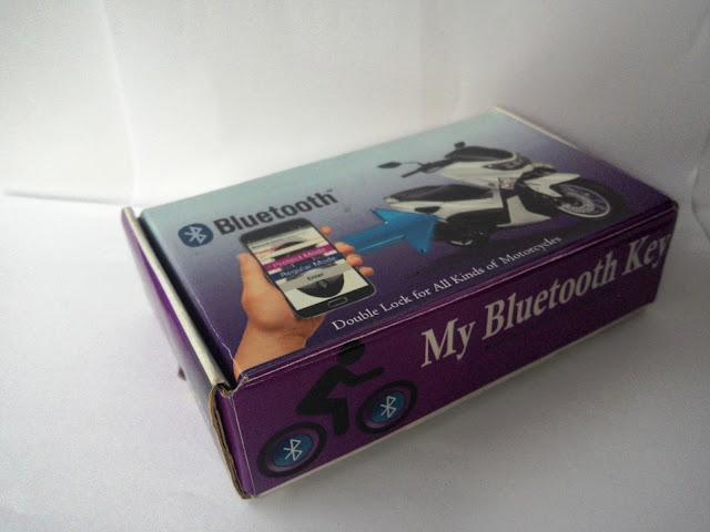 alarm sepeda motor bluetooth