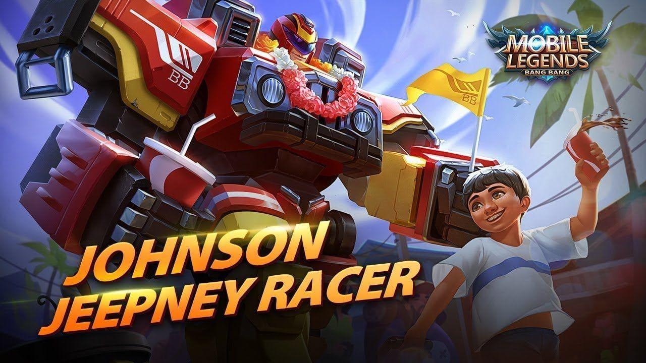 Wallpaper Johnson Jeepney Racer Skin Mobile Legends HD for PC