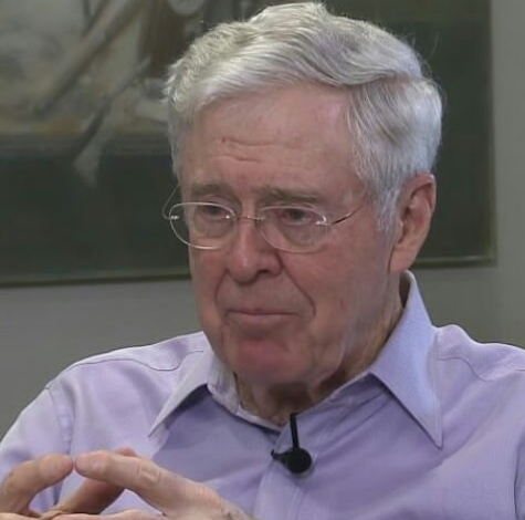 Top Richest People - Charles Koch