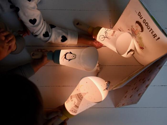 Passe-Partout lampada personalizzabile per bambini