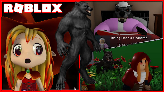 Roblox Riding Hood Story Gameplay! [Story] Scary BIG BAD WOLF MONSTER is after us