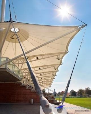 Jual Tenda Membrane atau kanopi membrane dengan Harga murah