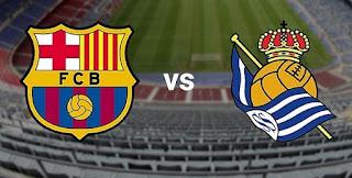 موعد مباراة برشلونة وريال سوسيداد في الدوري الاسباني 7-3-2020 والقنوات الناقلة