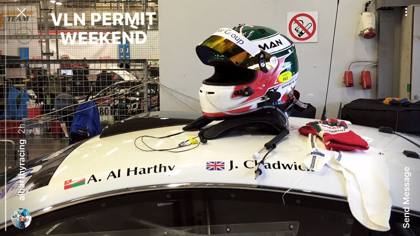Nordschliefe rockies ahmad al harthy and jamie chadwick quietly and efficiently completed another stage of the n24 licence requirements when they