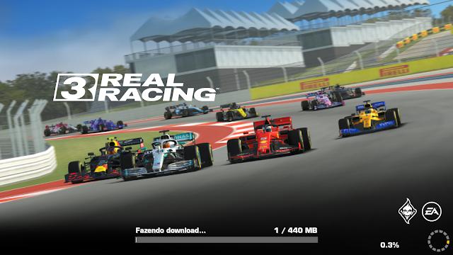 Real Racing 3 APK DATA MOD ATUALIZADO