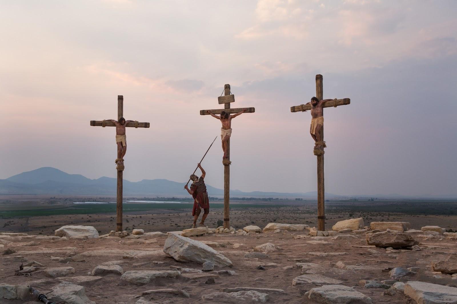 Cenas do filme A Paixão de Cristo