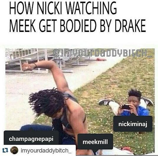 Lol. Fans mock the heck out of Meek Mill following Drake's ...  Lol. Fans mock ...