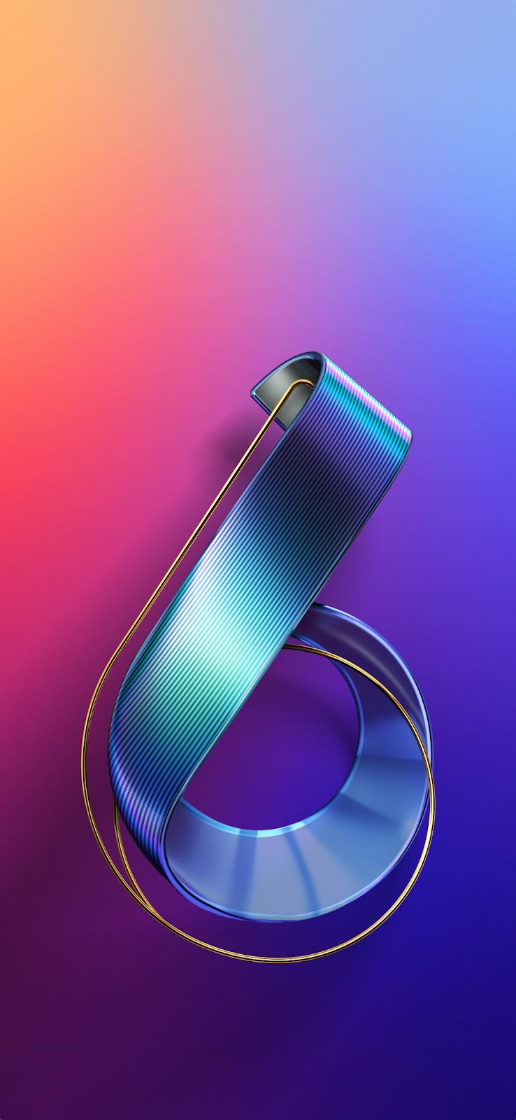 Hình nền gốc của Asus Zenfone 6 2019