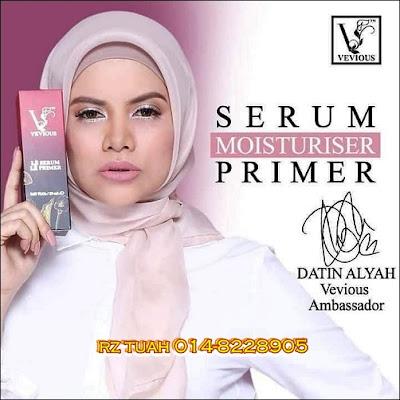 vevious serum moisturiser primer