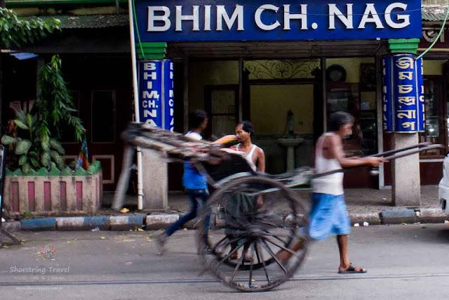 Bhim Chandra Nag sweet shop in Kolkata