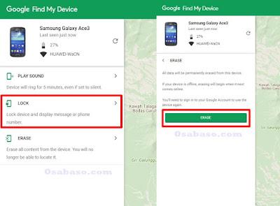 Cara menghapus data di Hp Android yang hilang