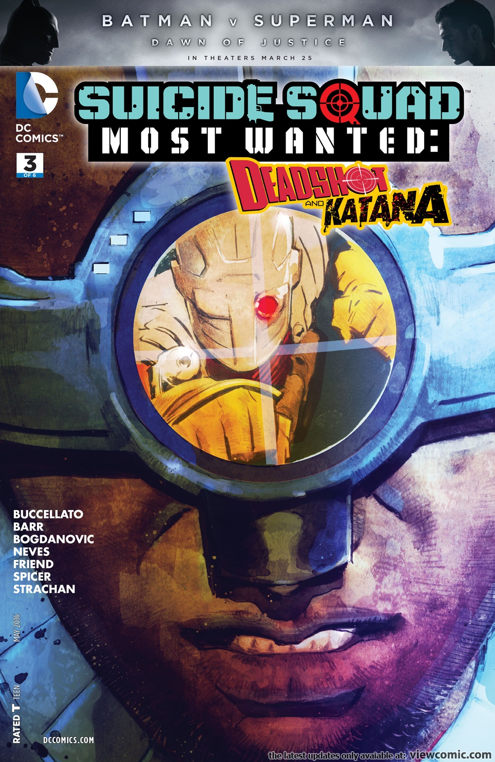 Suicide Squad Most Wanted – Deadshot and Katana 03 (of 06