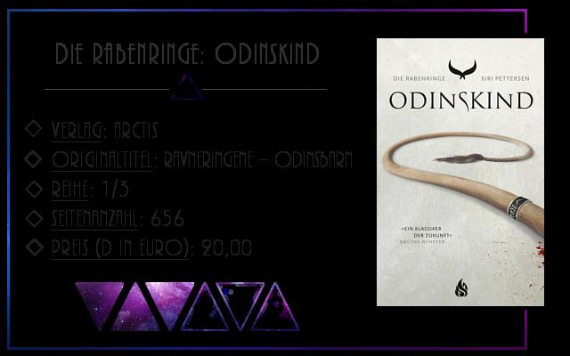 [Rezension] Die Rabenringe: Odinskind - Siri Pettersen