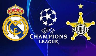 Link Live Streaming Liga Champion UEFA, Real Madrid Vs Sheriff Kamis, Pukul 02.00 WIB