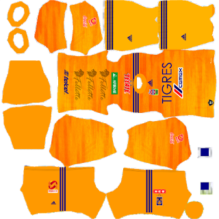 Tigres UANL Kit Dream League Soccer 2020