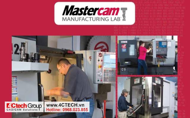 Sử dụng bản quyền MasterCAM trên tất cả các dòng máy CNC