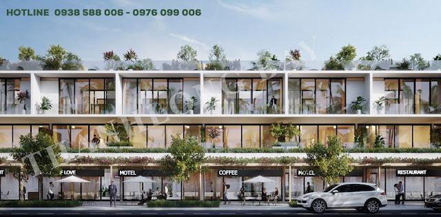 Nhà phố thương mại dự án Thanh Long Bay.