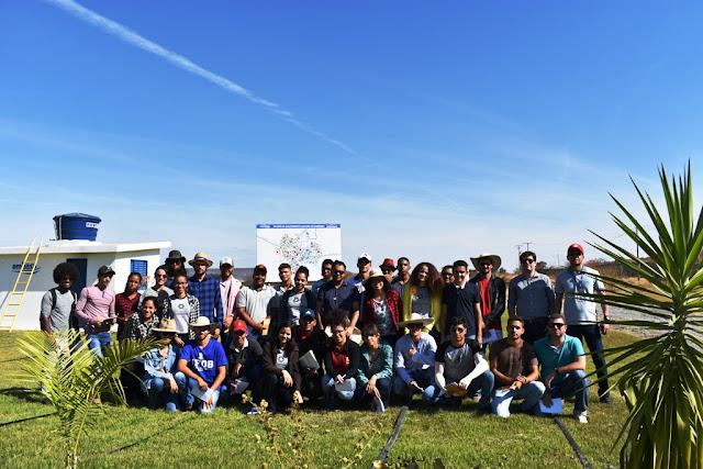 Estação de Tratamento de Esgoto é apresentada para estudantes de Agronomia da UFOB
