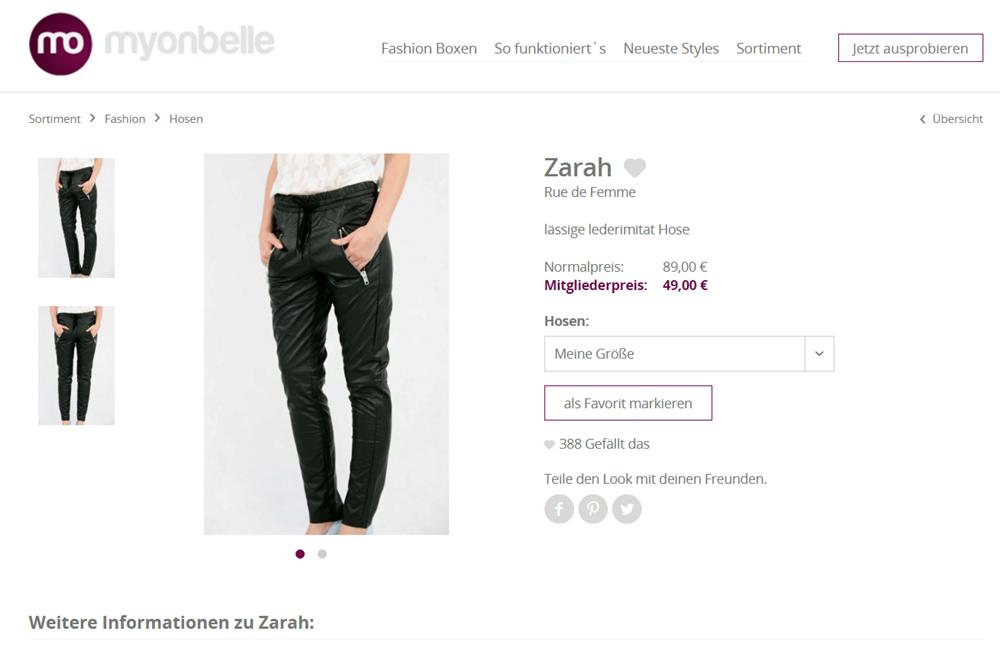 Zarah | Hosen | Fashion | Sortiment | myonbelle.de: Dein unendlicher Kleiderschrank