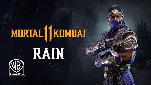 mortal kombat 11 rain gameplay reveal dlc fighters mk11 fighting game nether realm studios warner bros interactive entertainment pc ps4 switch xb1