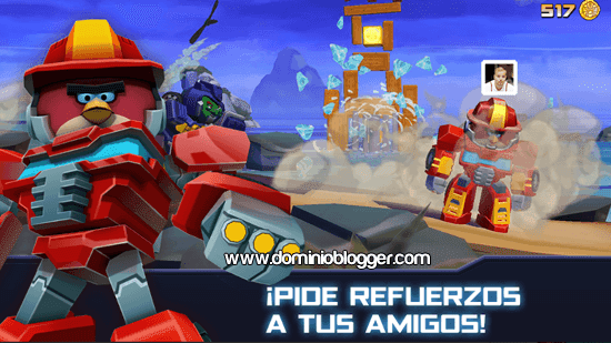 Angry Birds Transformers para Android