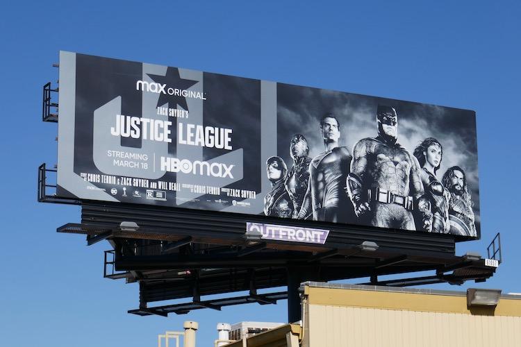 Zack Snyder Justice League billboard