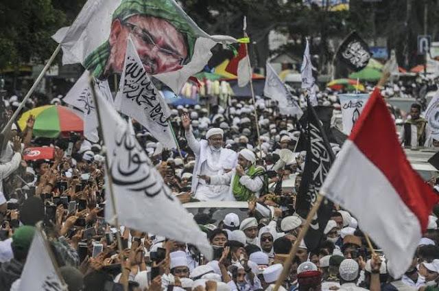 Magnet Politik Habib Rizieq Tak Bisa Disepelekan, Massanya Tambah Banyak