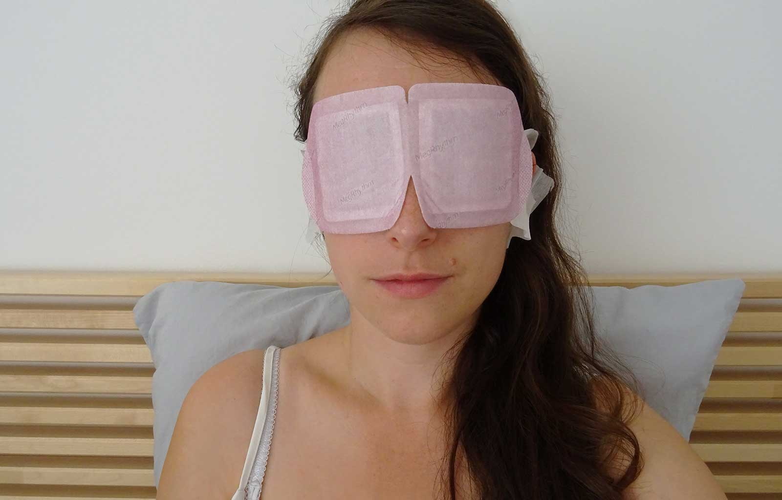Masque yeux chauffant lavande MegRhythm