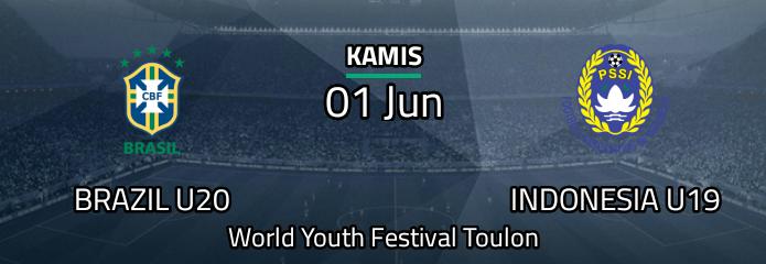 Brasil U20 vs Indonesia U19