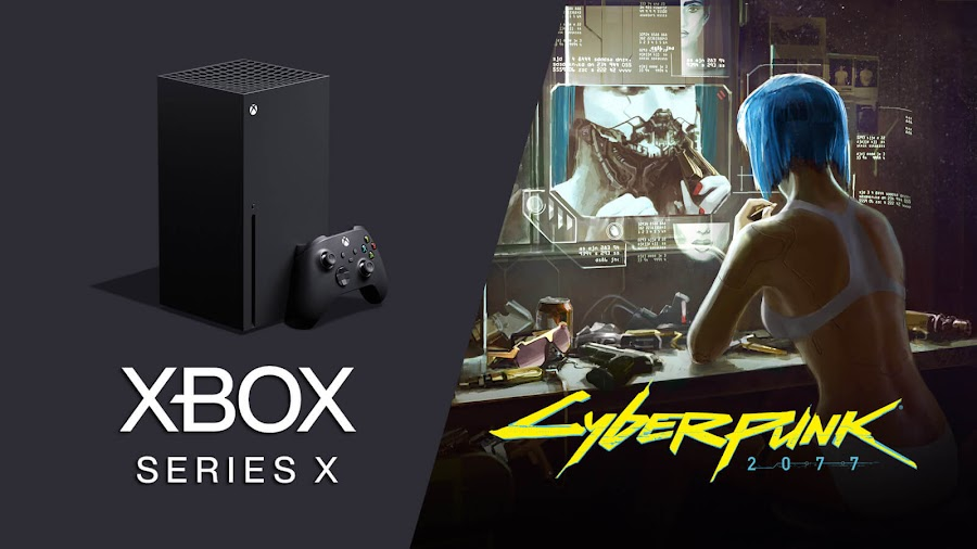 cyberpunk 2077 cd projekt red xbox one version free xbox series x upgrade next-gen microsoft console smart delivery feature role-playing game