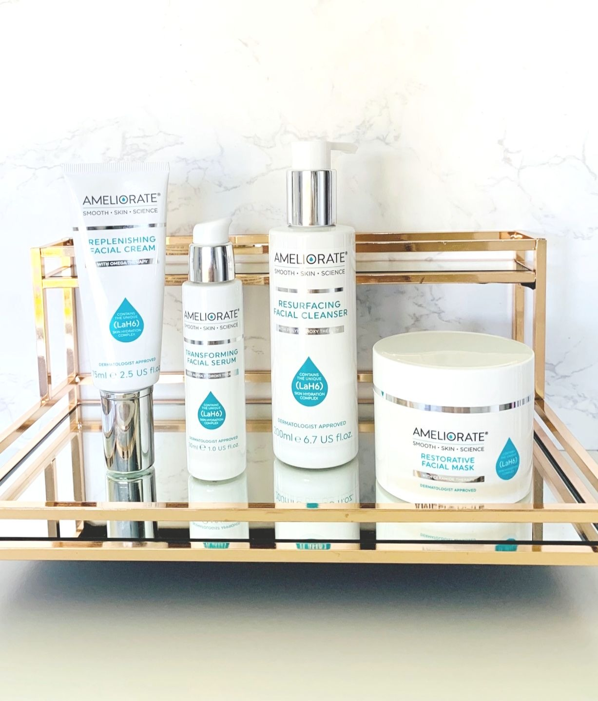 Ameliorate Skincare range review