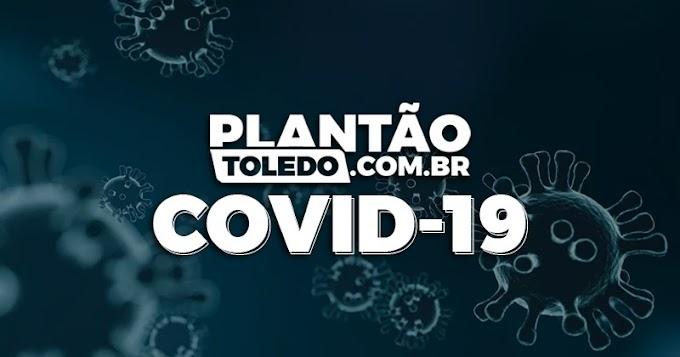 Covid-19: Mais um óbito é registrado em Toledo nesta Terça-feira