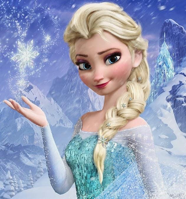 Gambar Princess Frozen Elsa Cantik Putri Anggun Walt Disney