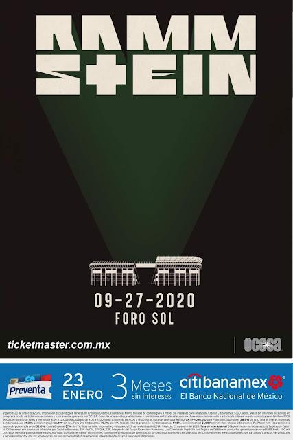 Rammstein México 2020