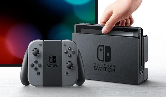 Nintendo Switch foi o console mais vendido no mês de agosto nos Estados Unidos