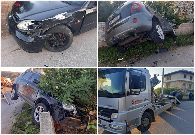 Ηγουμενίτσα: Τροχαίο ατύχημα στη Νέα Σελεύκεια
