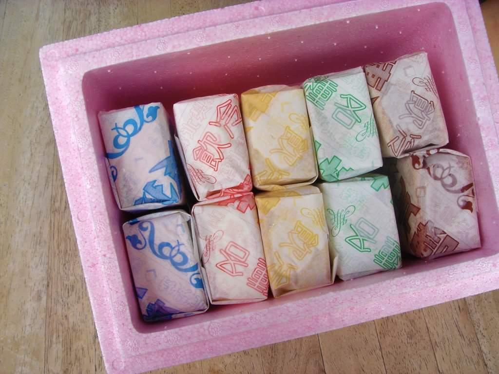 斗六-溝霸里的清涼冰店 三明治夾心冰餅