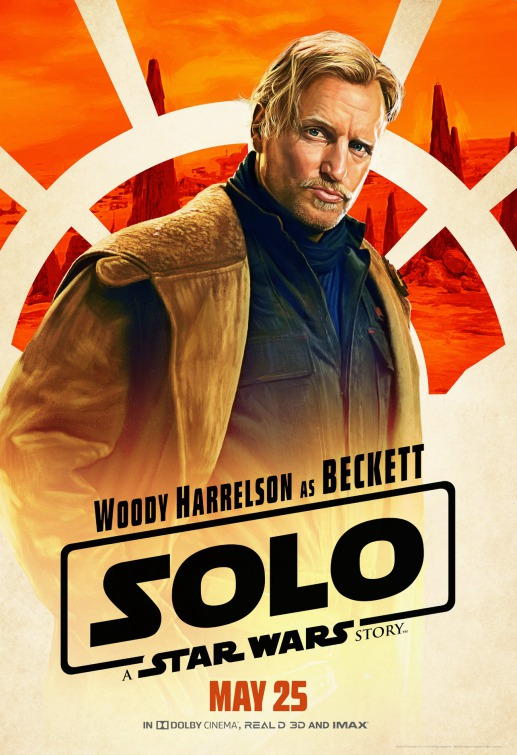 Solo Star Wars Beckett poster