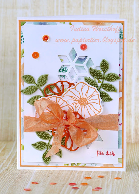Bunte Vielfalt | DIY Geburtstagskarte | papiertier Indina | Stampin' Up! | Oh So Eclectic
