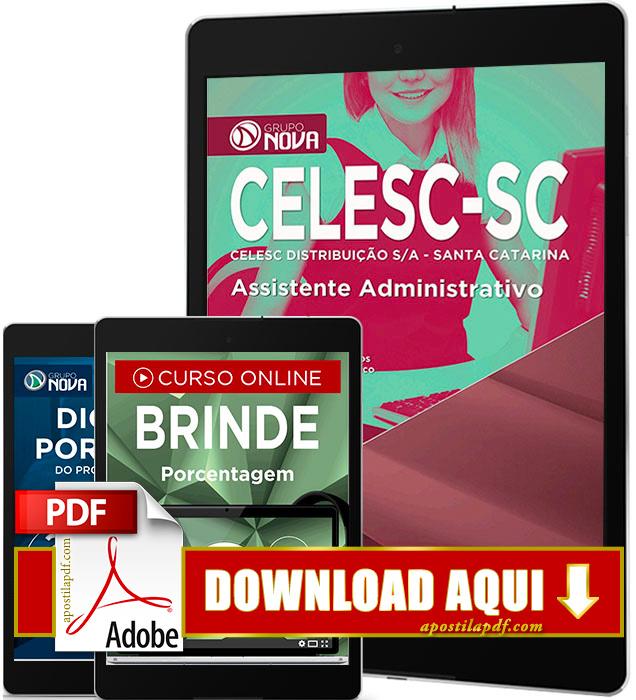 Apostila CELESC 2016 PDF Download Assistente Administrativo