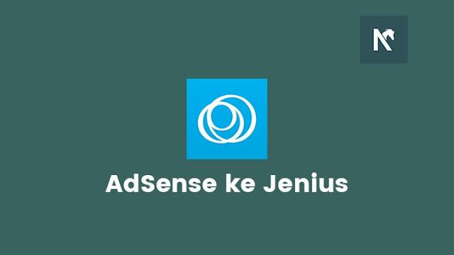 Menerima Pembayaran Google AdSense Menggunakan Jenius