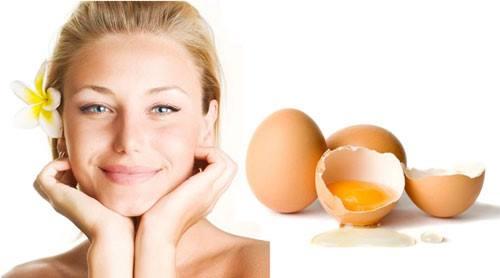 Giảm nhăn với mặt nạ trứng gà
