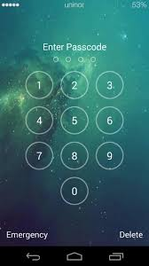 Galaxy Space Lock Screen APK